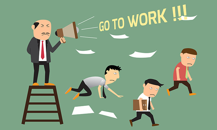 Lack of focus startup go to work motivation