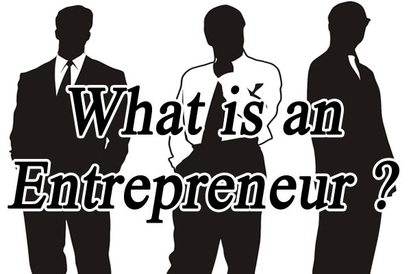 What is an Entrepreneur Black White