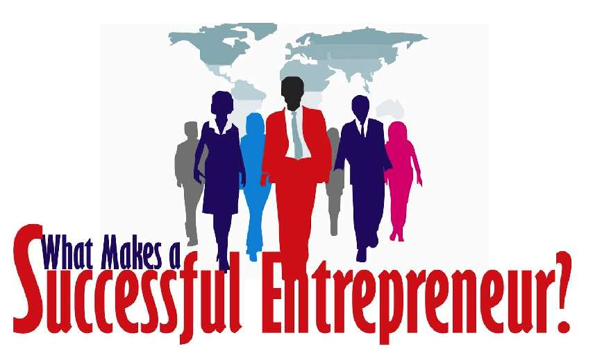 What is behing successful entrepreneurs