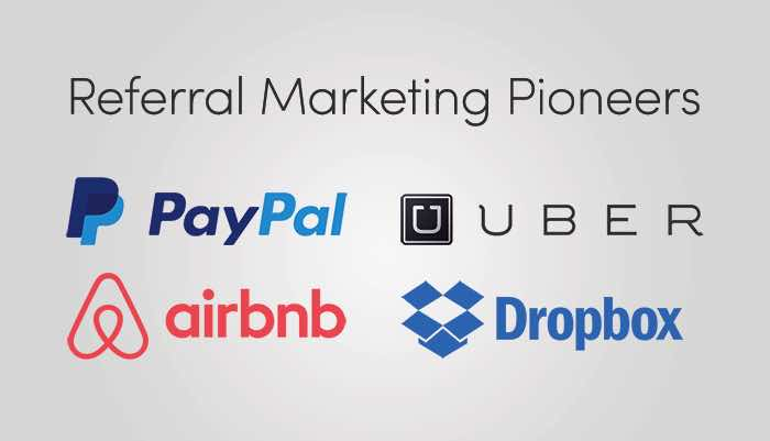 Referral Marketing Examples Pioneers
