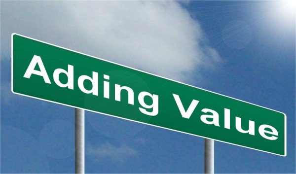 Value Added Adding Valuable