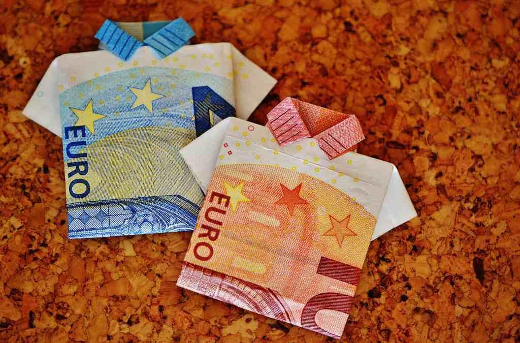 Euros Currency Money Fold Shirt