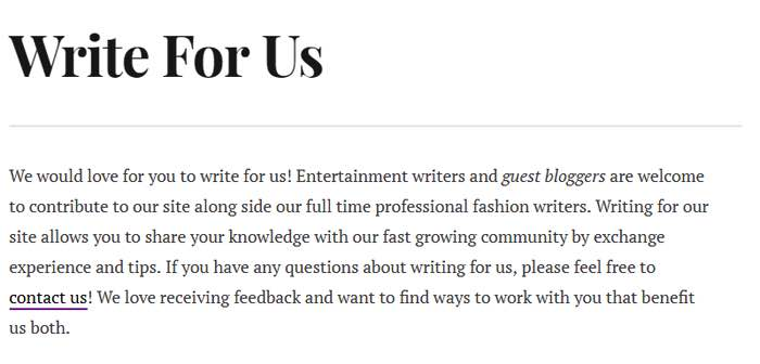 Guest Post Write for Us Example | Growth Hackers