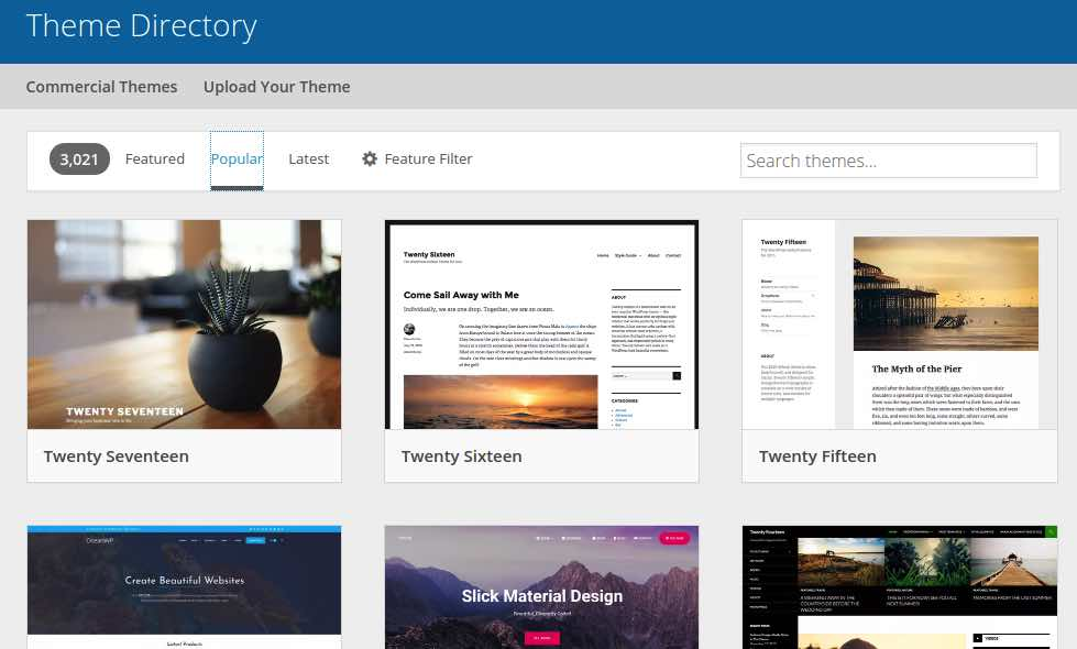Wordpress CMS Themes Content Management Systems WP