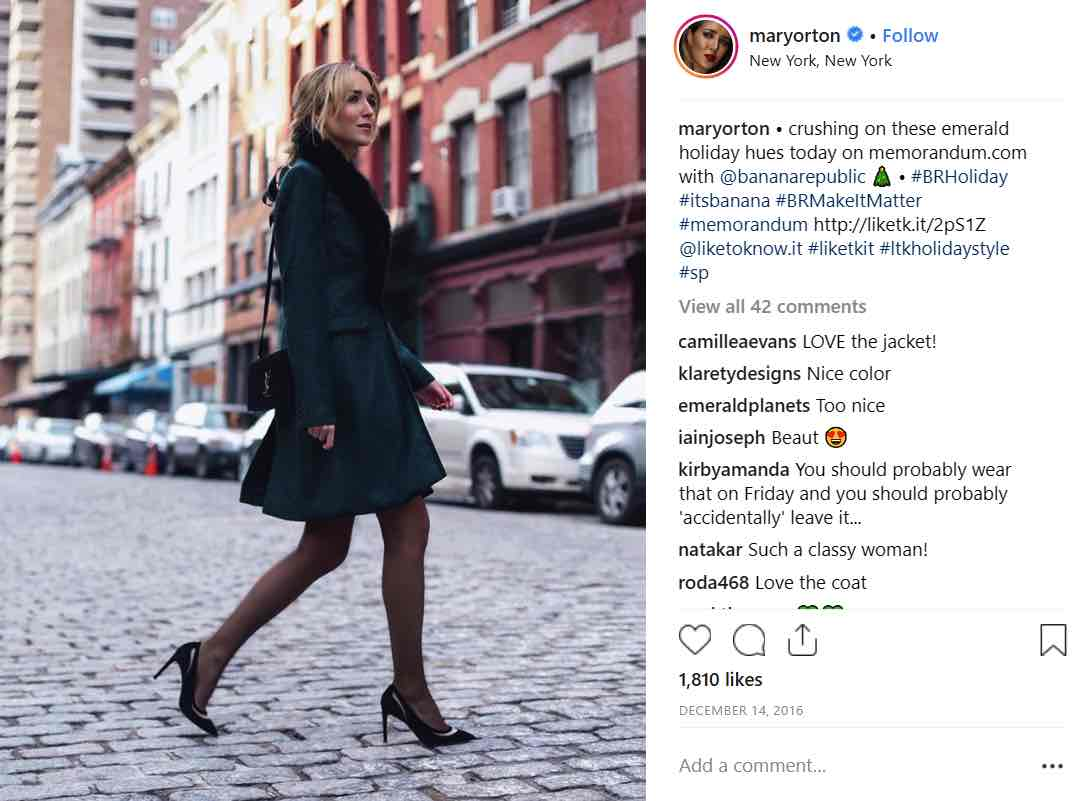 Research Influencer on Instagram Clothes Design