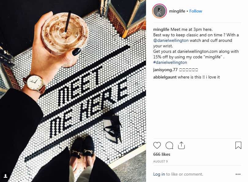 Watch Watches Influencer Marketing Campaign